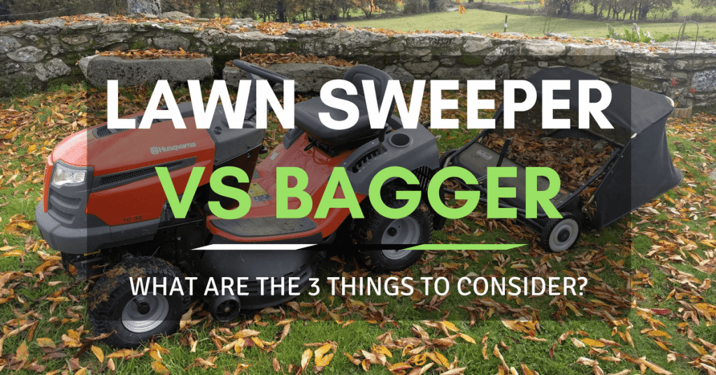 Lawn Sweeper Vs Bagger