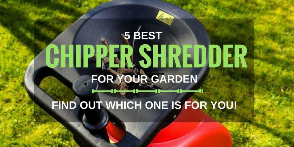 5 Best Chipper Shredder for Your Garden