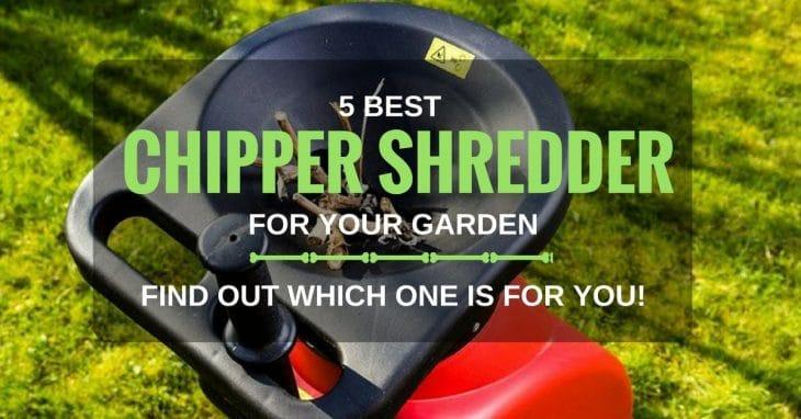 Best Chipper Shredder For Home Use: Top 5 Reviews