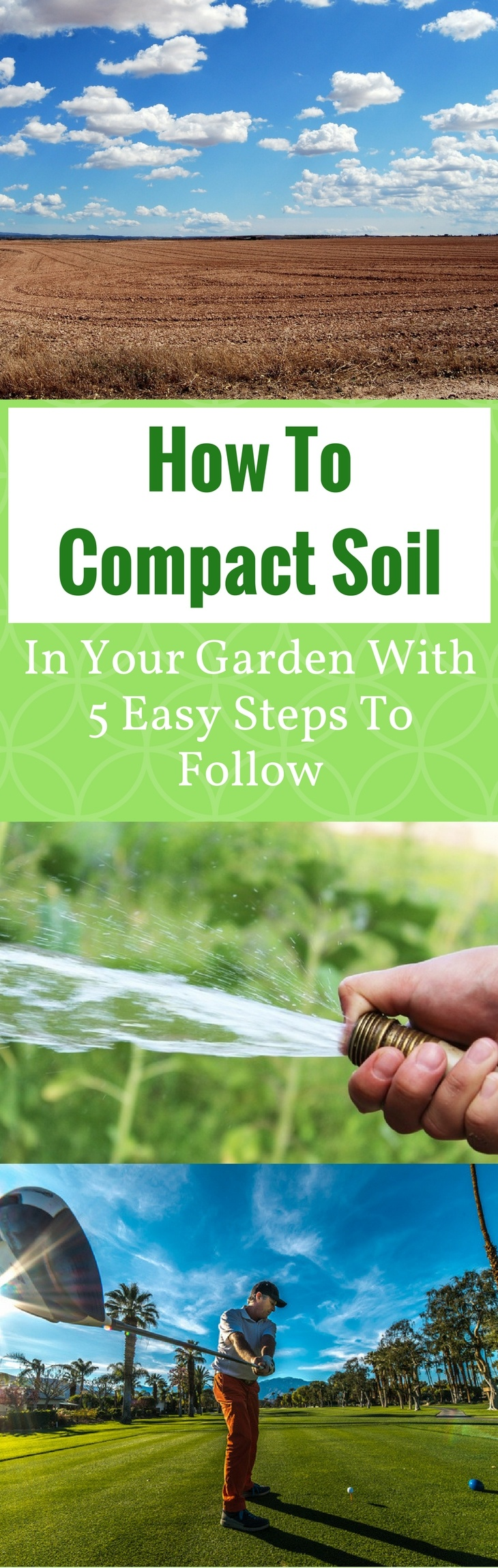 How To Compact Soil pin it