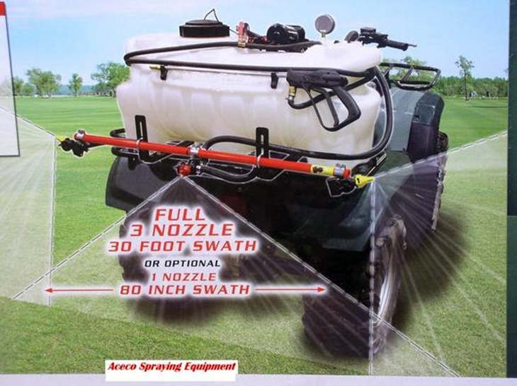 This sprayer has a capacity of at least 15 – 20 Gallons