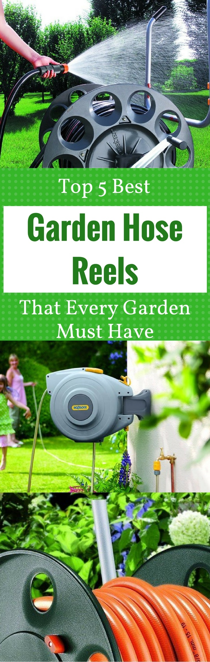 Top 5 Best - Garden Hose Reels - That Every Garden Must Have - best garden hose reels