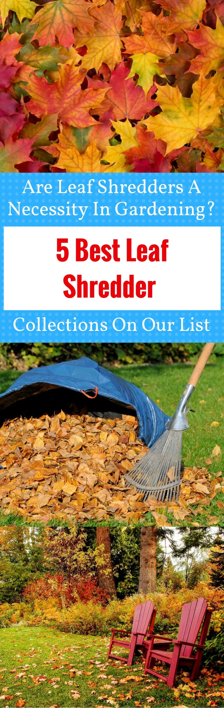 5 Best Leaf Shredder Collections on Our List pin it