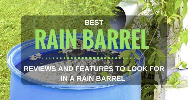 Best Rain Barrel Reviews