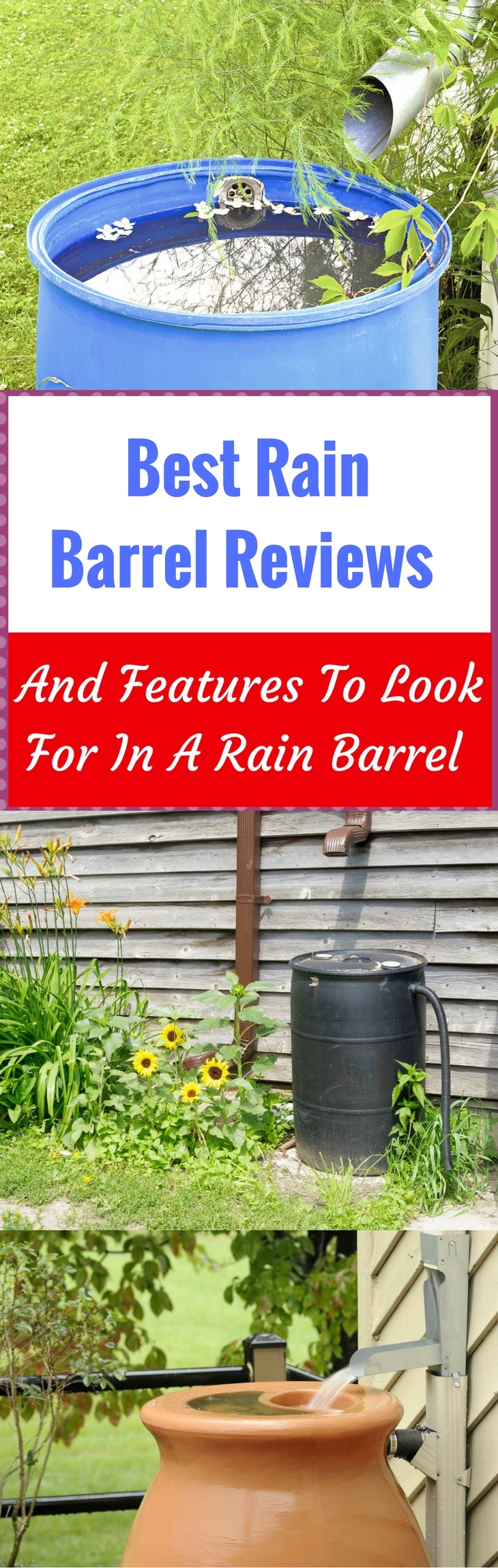 Best Rain Barrel Reviews Pin It