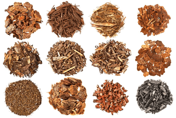 Different types of mulch which you can apply in your garden