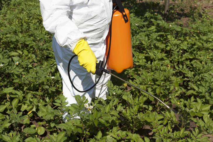 Make sure to protect yourself when using backpack sprayer with pesticide - best backpack sprayer