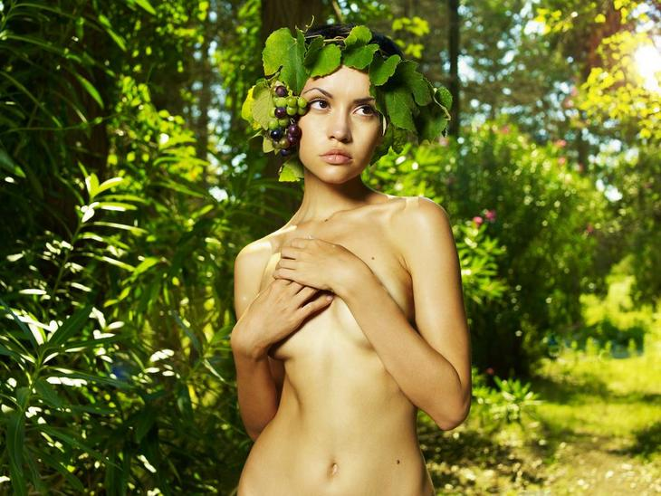 Nude gardening can be done inside your home.