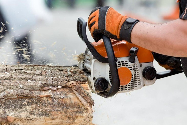 Wobbling or rattling chainsaw produces poor cutting of woods