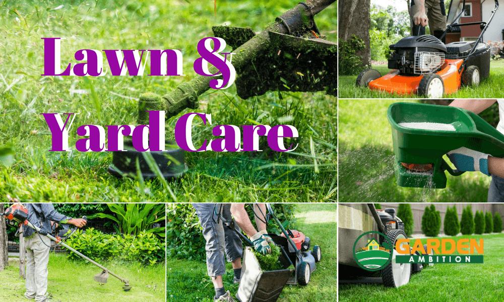 Lawn Amp Yard Care Repair Maintenance Tips Amp Guides