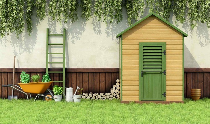 Make sure to store your trimmer line inside your shed, away from direct sunlight