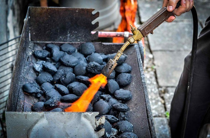 Propane torches are also useful in firing up charcoal in barbecue grills
