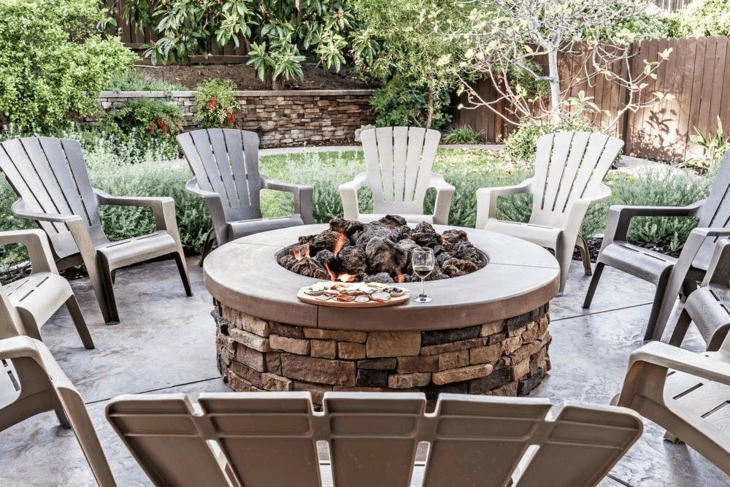 You can maintain safety by placing your fire pit in the right spot.