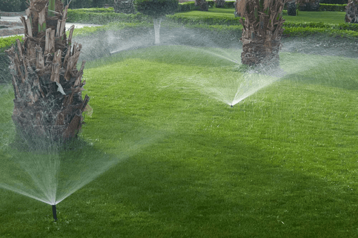 Inground sprinklers are automated to ensure your lawn gets watered even while you're away from home.
