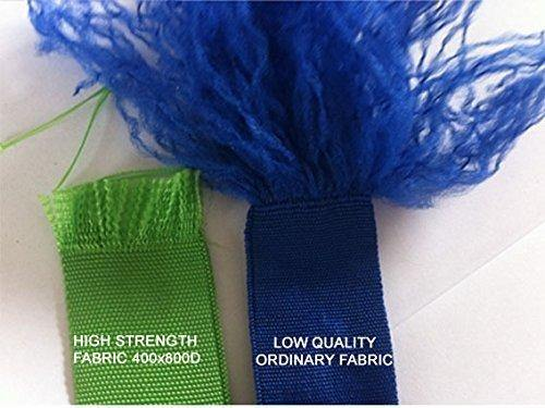 Manufacturers tend to use different fabrics for a collapsible hose's outer layer. Some use high-quality fabric while others use nylon