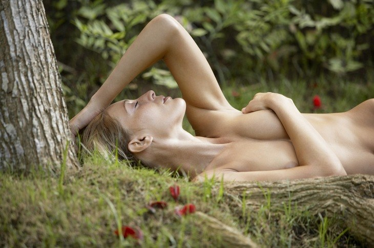 Nude gardening encourages people to be confident with their own body while doing something good for nature.