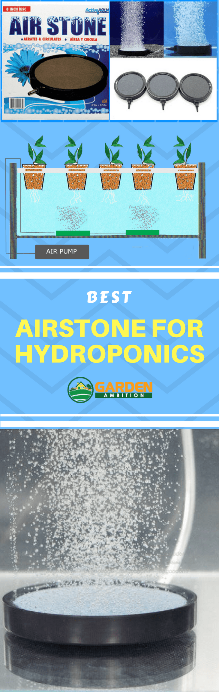best airstone for hydroponics infographic