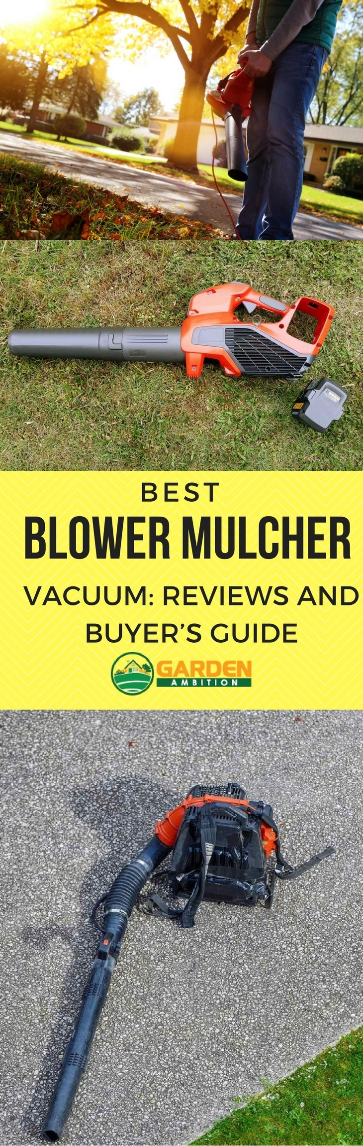 best blower mulcher pin it