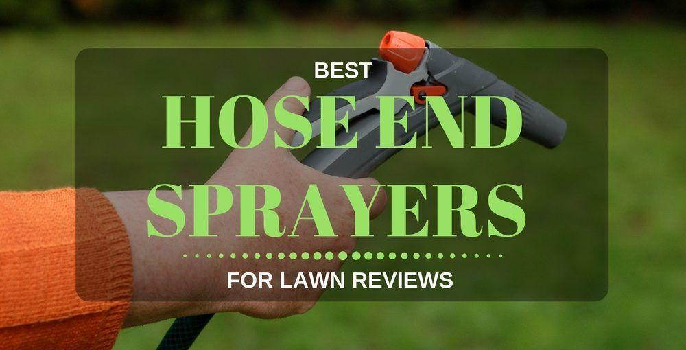 best hose end sprayer