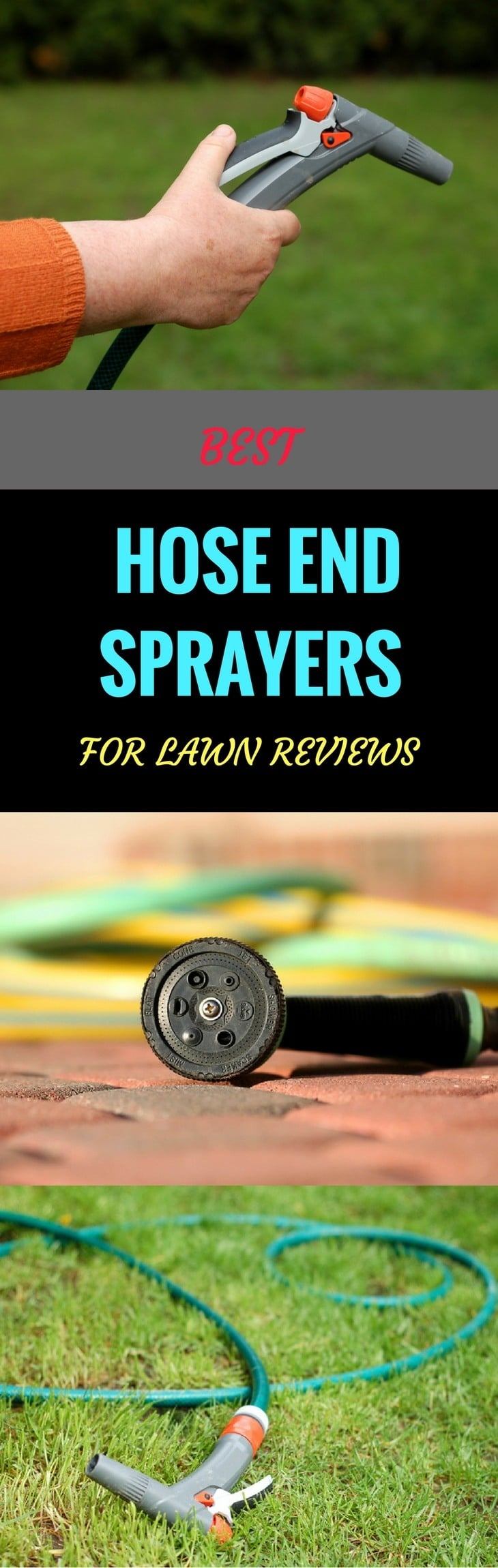 5 Best Hose End Sprayers For Lawn & Trees 2018 Reviews