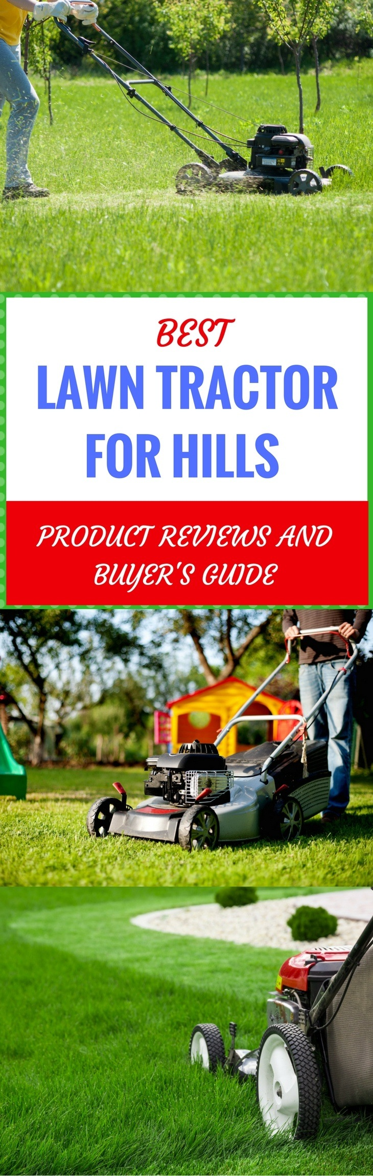 best lawn tractor for hills pin it