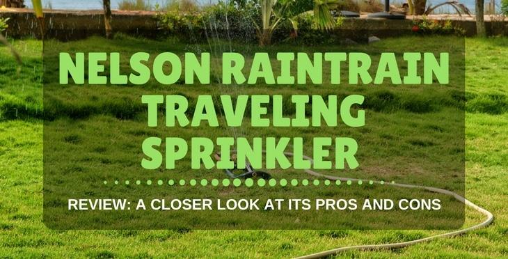 NELSON RAINTRAIN TRAVELING SPRINKLER