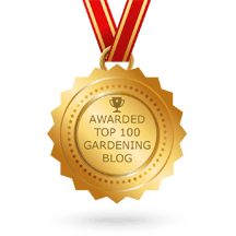 Top 100 Gardening Blogs by Feedspot.com
