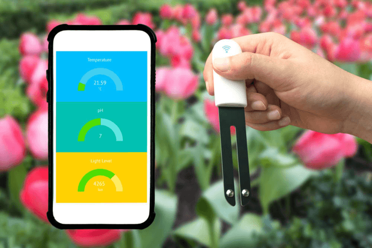 You can easily and accurately assess the pH levels of your hydroponics system with a digital pH tester.