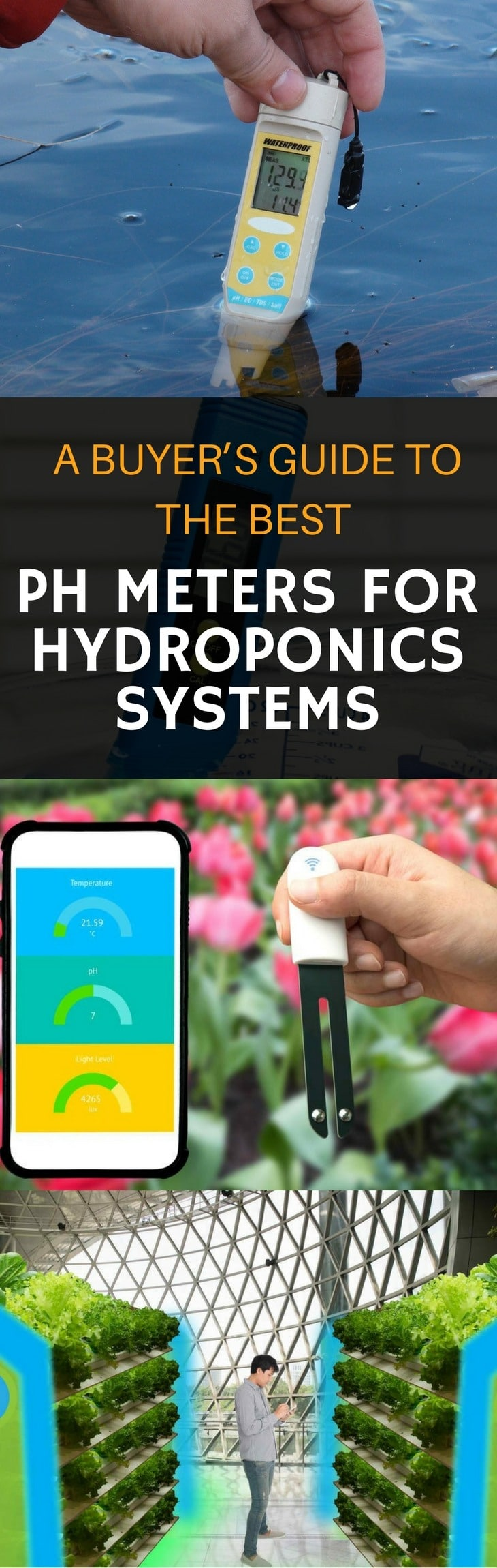 best pH meters for hydroponics pin it