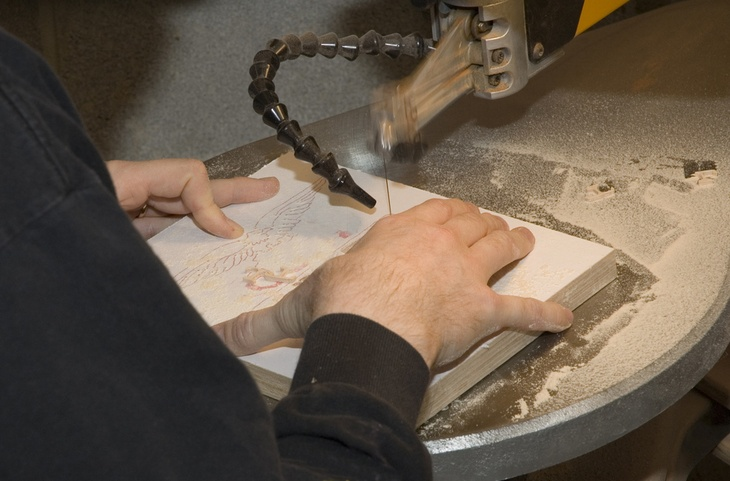 Although it is just like a band saw, scroll saws utilize a reciprocating blade instead of continuous loop