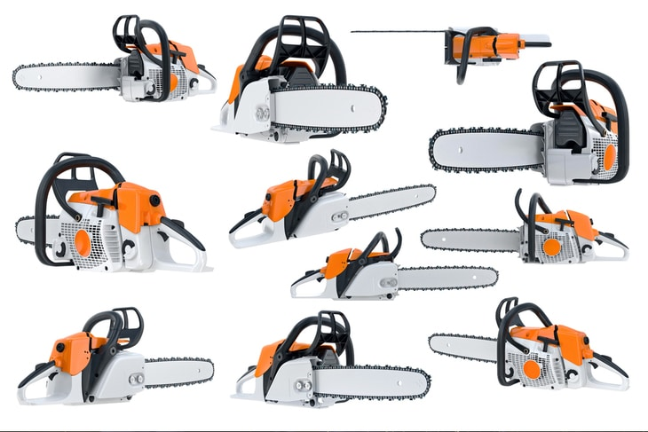 Chainsaws come in different types, as well as in different sizes