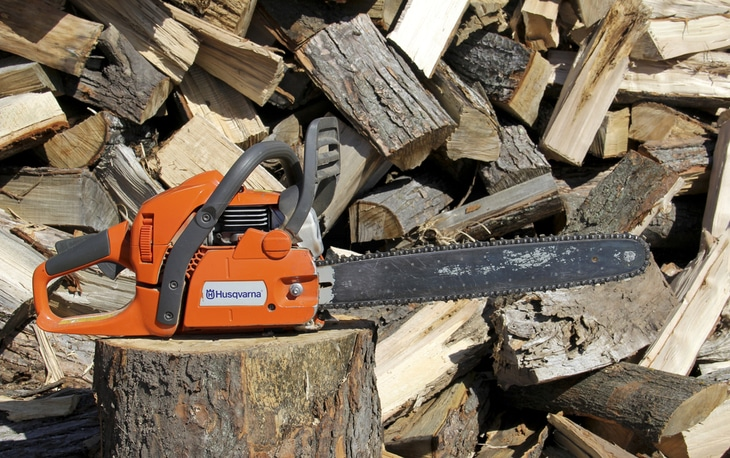 Husqvarna is one of the well-known brands of chainsaws on the market