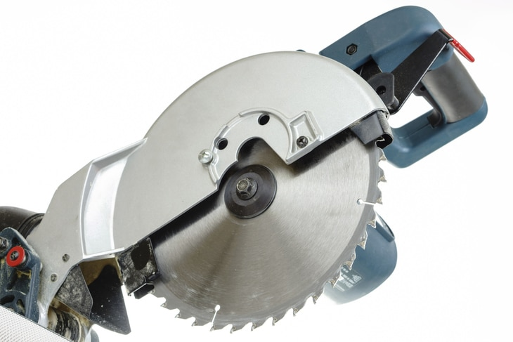 Miter saws that have more teeth produce finer cuts