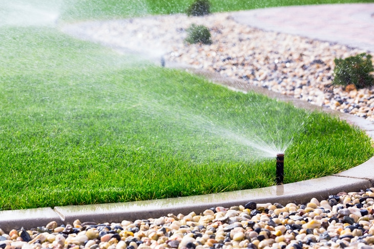 More homeowners are discovering the wonders of using sprinklers