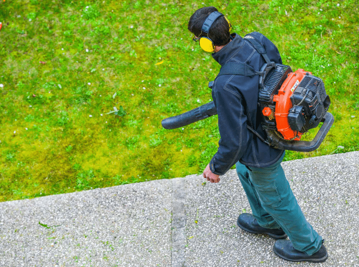Residential blowers are an easy replacement for the handheld version