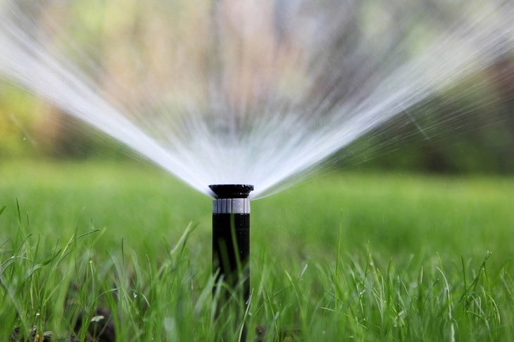 Sprinklers can be the best solution for those who are tired of hand watering
