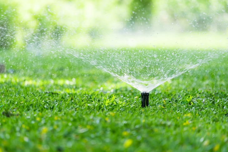 The right lawn sprinkler can help reduce your water bill