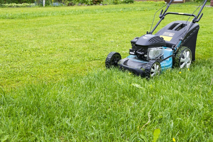 Walk lawn mowers has an average of 140-cc to 190-cc engine power rate