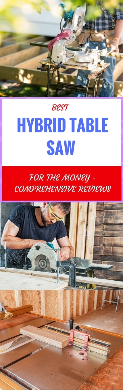 best hybrid table saw for the money pin it