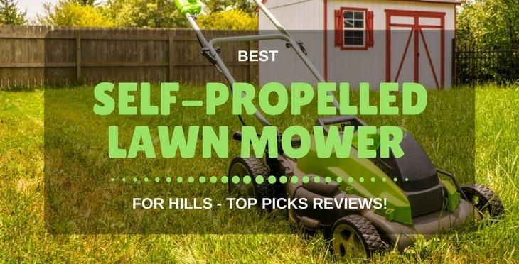 best self-propelled lawn mowers
