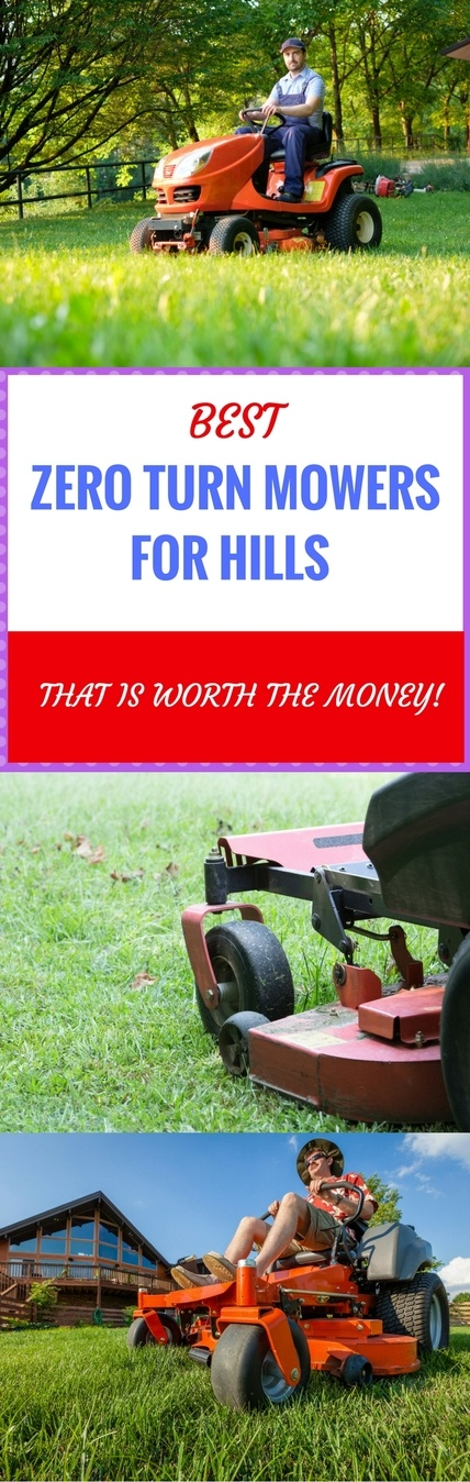 best zero turn mower for hills pin it