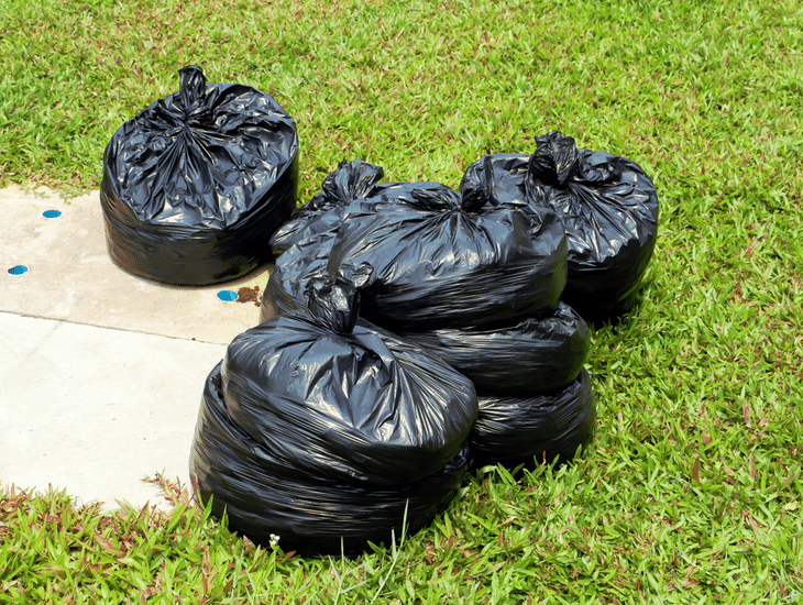 A higher reduction rate means fewer garden bags to fill up