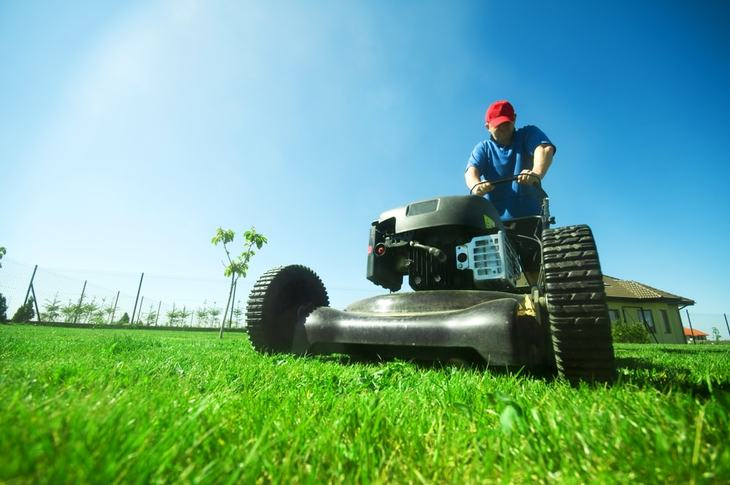 A typical lawn tractor has an average engine power of 17 ½ - 27 HP. They are designed for spaces with a lot of obstacles