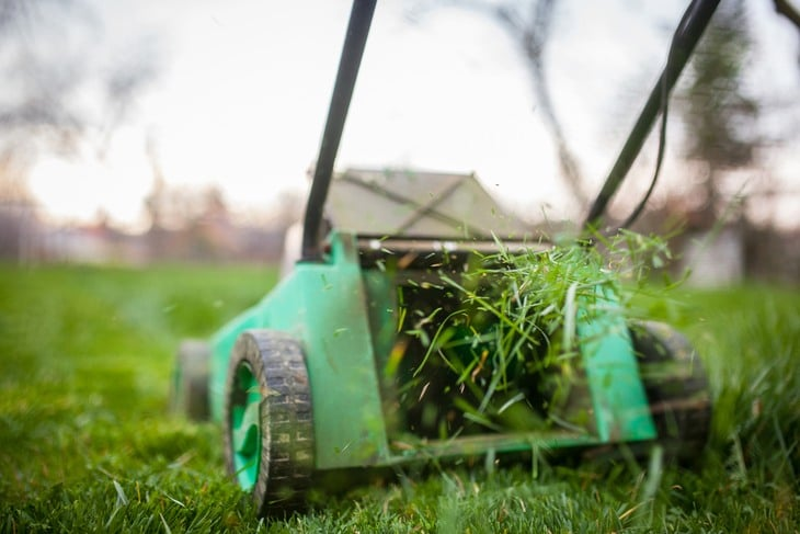 Efficiency of the mower grass discharge feature is extremely important
