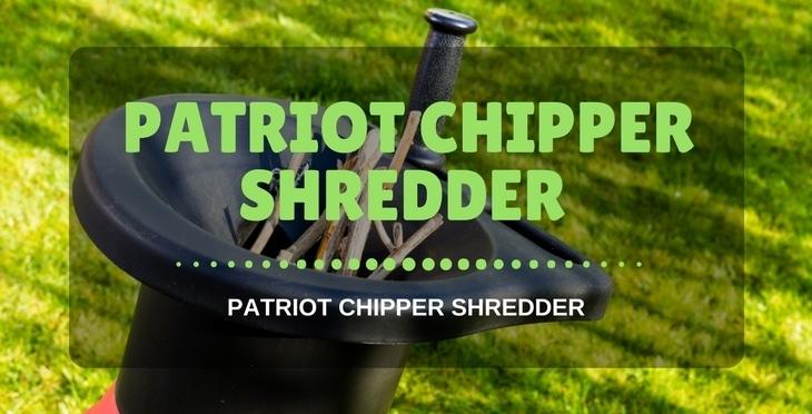 Patriot CSV-3100B chipper shredder