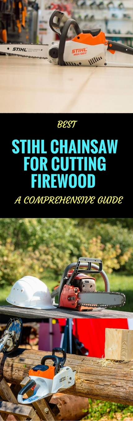 STIHL CHAINSAW FOR CUTTING FIREWOOD