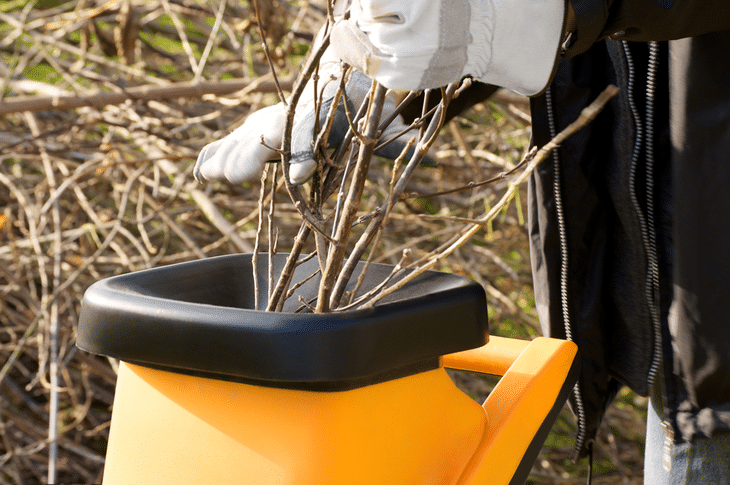 Shredding and mulching are great for creating fertilizer for your plants