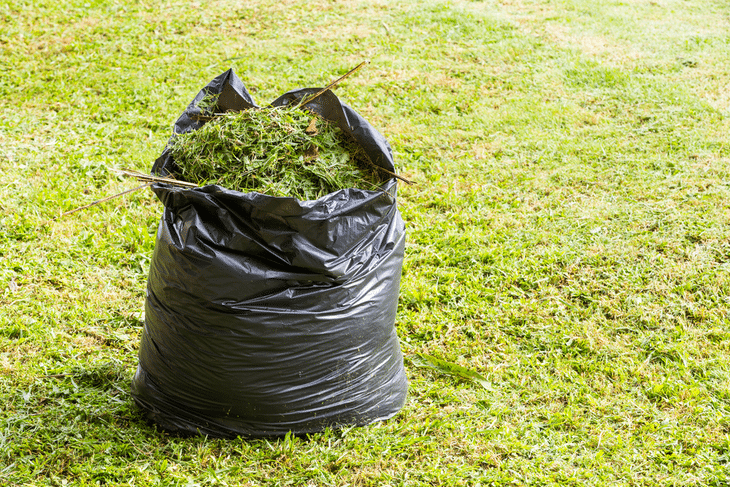 The more mulch you make, the more garden waste you can reduce