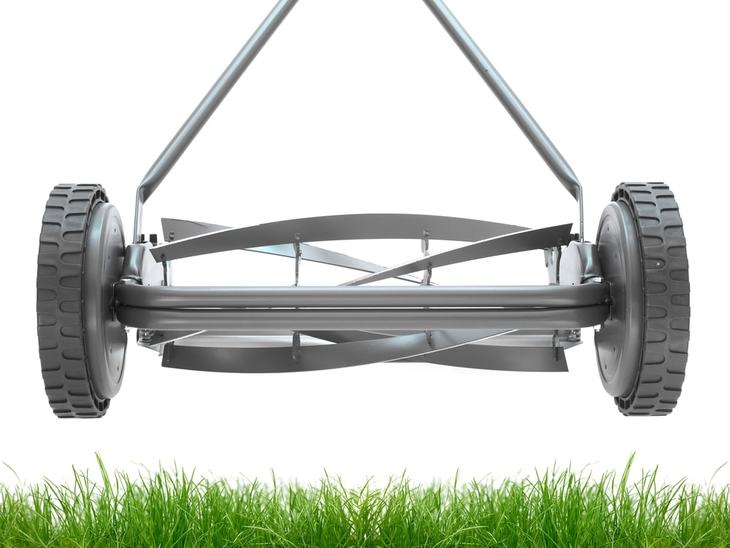 The rotating blades of lawn mower is a vital part when cutting the grass
