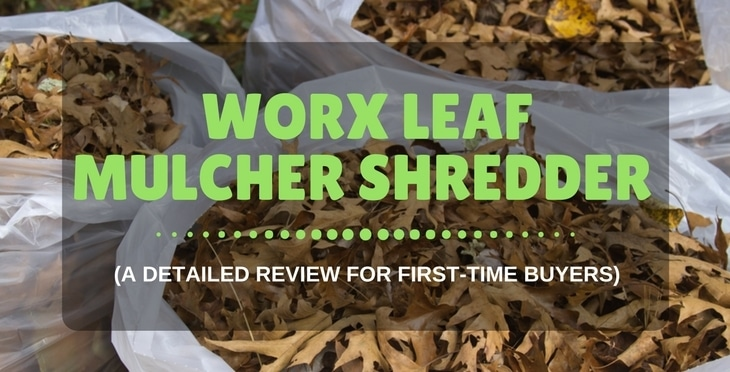 Worx Leaf Mulcher Shredder WG430